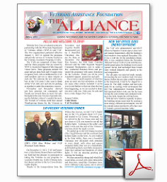 VAF Newsletter Winter 2013
